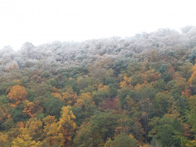 Snow on the mountain Oct 2015