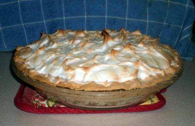 Resize of Lemon meringue pie